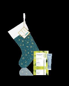 MEIA de BELEZA GLOW - Meia de Natal com Produtos para o Rosto. Comparativamente com a aquisição unitária dos produtos poupa  17,10 €uro correspondente a um desconto de 33%